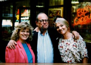 Maria McFadden Maffucci with Jim and Faith McFadden