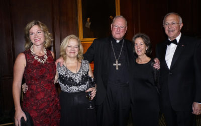 Timothy Dolan at Human Life Foundation's Great defender of Life Dinner